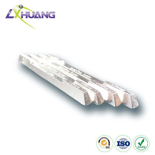 Sn In Ag Bi Alloy Solder Bar
